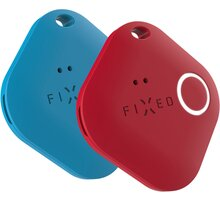 FIXED lokátor Smile Pro, 2ks, modrá/červená - FIXSM-SMP-BLRD