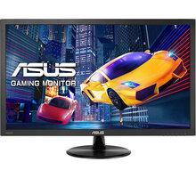 """ASUS VP228HE - LED monitor 21,5"""" - 90LM01K0-B05170 + Herní myš C-TECH Kyllaros, modré podsvícení, 3200DPI v hodnotě 219 Kč"""