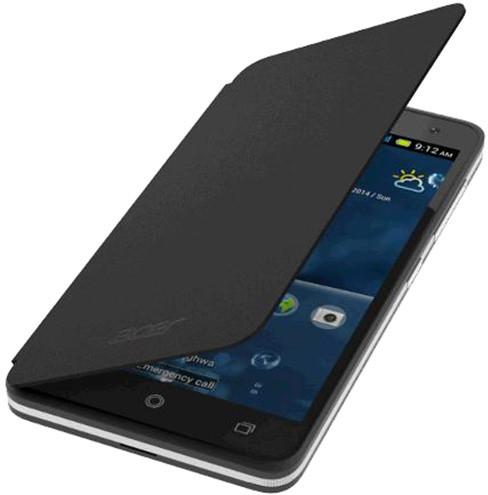 Acer pouzdro pro Liquid Z520, flip cover, černá