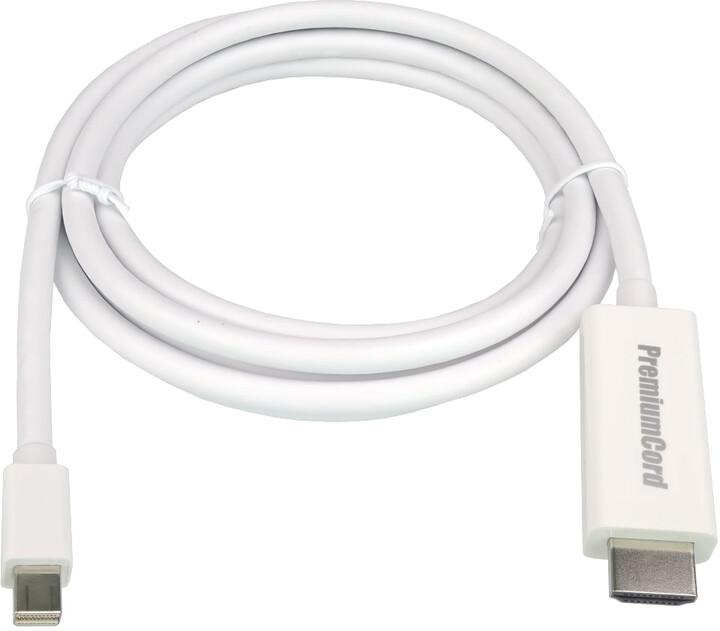 PremiumCord Mini DisplayPort - HDMI M/M 5m