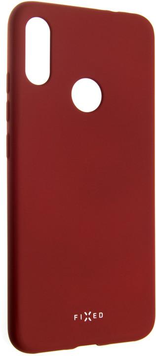 FIXED zadní pogumovaný kryt Story pro Xiaomi Redmi Note 7, červená