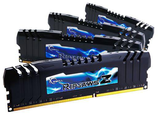 G.SKill RipjawsZ 32GB (4x8GB) DDR3 2133 CL9