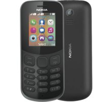 Nokia 130, Dual Sim, černá A00028518
