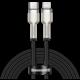 BASEUS kabel Cafule Series, USB-C - Lightning, M/M, nabíjecí, datový, 20W, 2m, černá