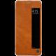 Nillkin Qin S-View Pouzdro pro Huawei P20 Pro, hnědý