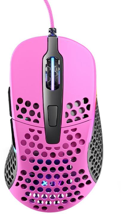 Xtrfy M4 RGB, růžová