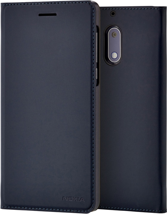 Nokia Slim Flip Case CP-302 for Nokia 5, modrá