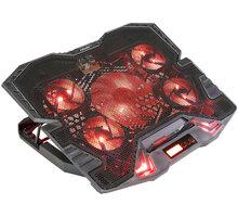 Evolveo ANIA 5 chladicí podstavec pro notebook, červené podsvícení - CHE Ania5R