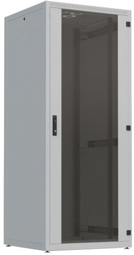 """4X rozvaděč, 19"""" stojanový, 21U, 600x600mm, zatížení 300kg, RAL7035, šedá"""