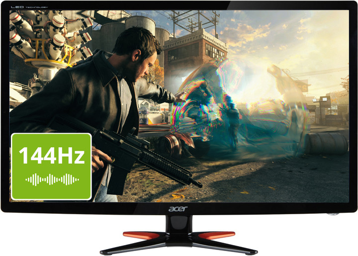 "Acer GN246HLBbid Gaming - LED monitor 24"""