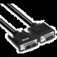 Club3D kabel DVI-A - VGA, UXGA@60Hz, 3m, černá