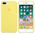 Apple silikonový kryt na iPhone 8 Plus / 7 Plus, citrónově žlutá