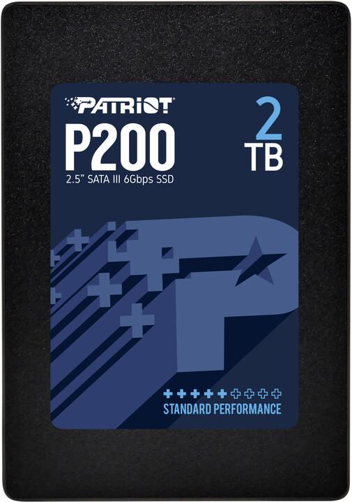 """Patriot P200, 2,5"""" - 2TB"""