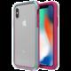 LifeProof SLAM ochranné pouzdro pro iPhone X / iPhone Xs průhledné - fialovo zelené