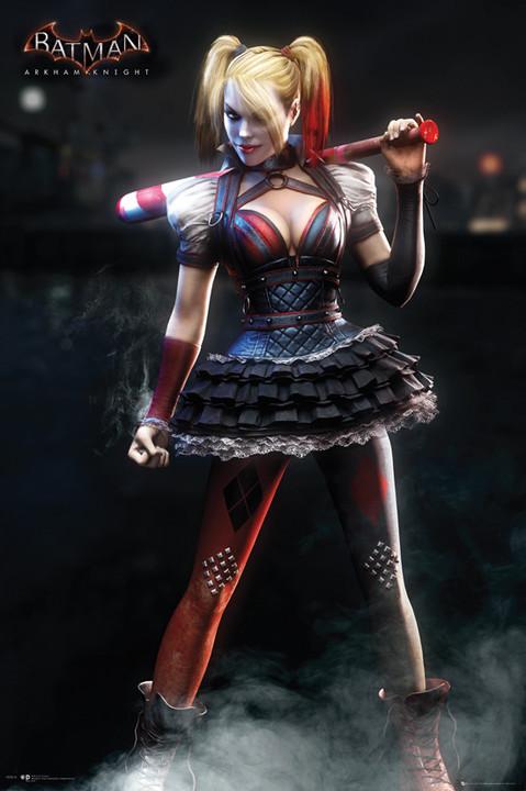 Plakát Batman: Arkham Knight - Harley Quinn