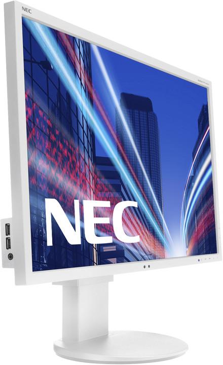 "NEC MultiSync EA244WMi, bílá - LED monitor 24"""