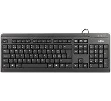 Fujitsu KB410 Slim, černá, CZ/SK - S26381-K511-L404