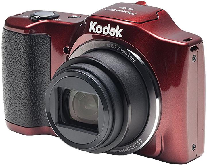 Kodak Friendly zoom FZ152, červená