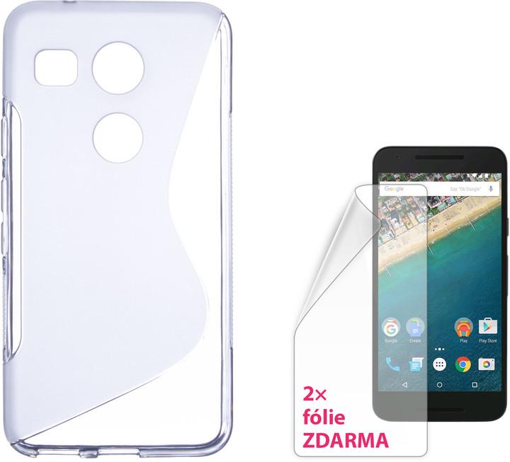 CONNECT IT S-COVER kryt pro LG Nexus 5X ČIRÉ