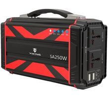 Viking SA250W bateriový generátor 60000mAh - VSA250RED