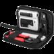 PremiumCord Sada nářadí pro síťaře - tester, kleště, ořezávač a narážeč