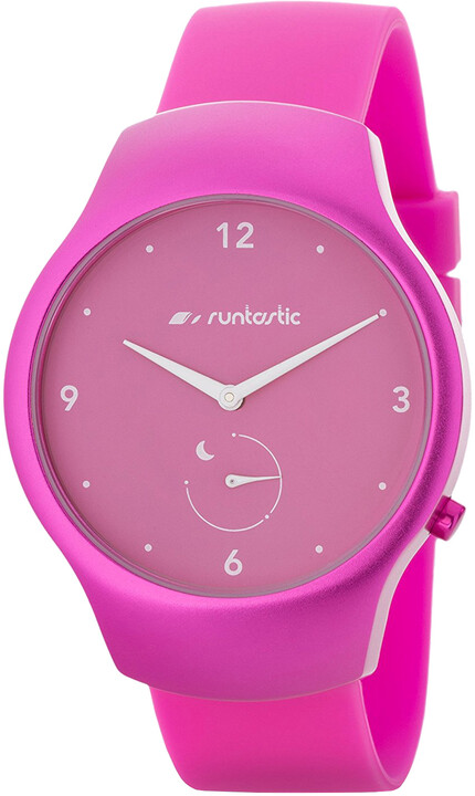Runtastic SmartWatch MOMENT FUN, růžová