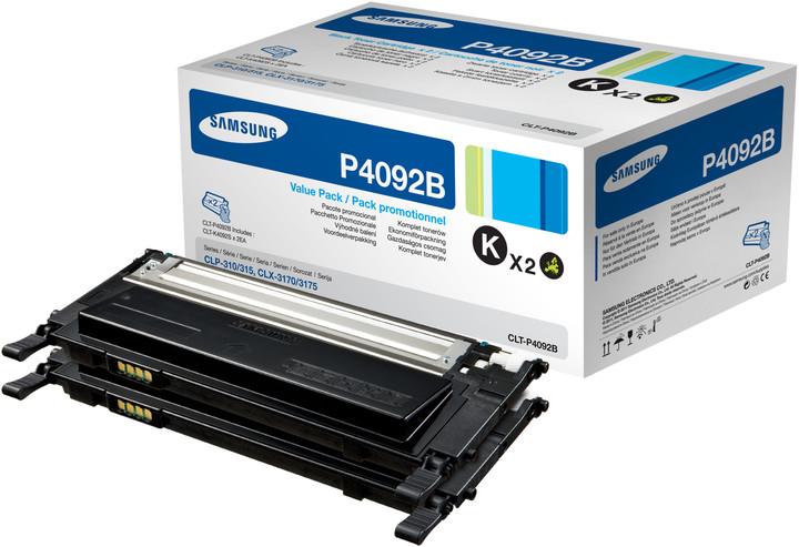 Samsung CLT-P4092B, sada dvou tonerů, černý