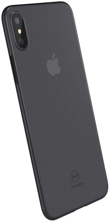 Mcdodo iPhone X Ultra Slim Air Jacket Case (PP), Clear Black