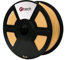 C-TECH tisková struna (filament), PLA, 1,75mm, 1kg, barva lidské kůže - 3DF-PLA1.75-SK
