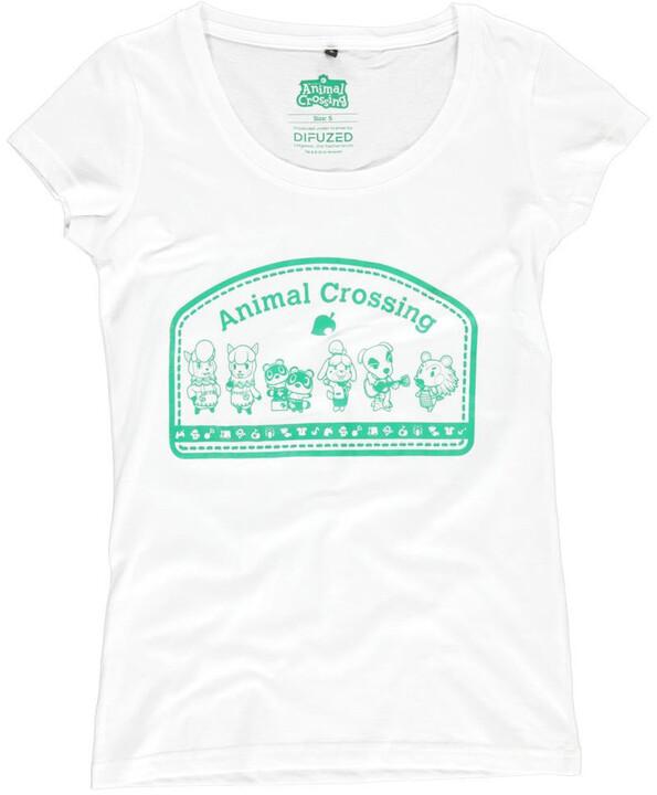 Tričko Animal Crossing - Villagers, dámské (XS)
