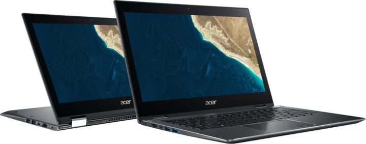 Acer Spin 5 Pro celokovový (SP513-52NP-57EV), šedá