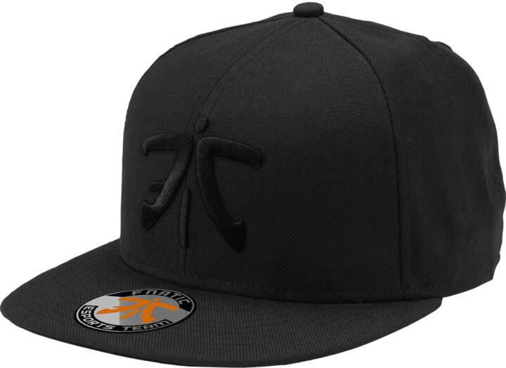Kšiltovka Fnatic Flat Brim, Black Logo, černá