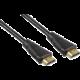 PremiumCord HDMI Ethernet kabel, zlacené konektory, 7m