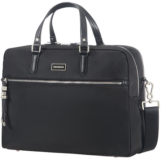 "Samsonite Karissa Biz BAILHANDLE 15.6"" 2 COMP Black"