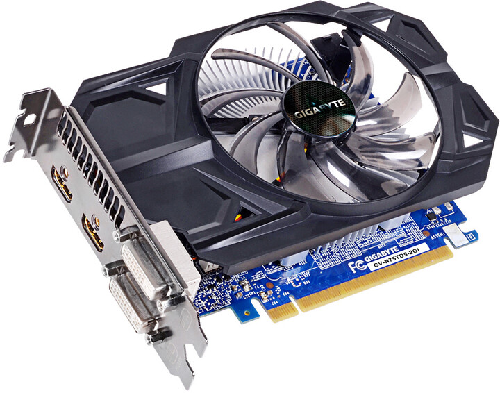 GIGABYTE GTX750 Ti Ultra Durable 2 2GB