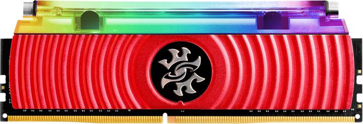 ADATA XPG SPECTRIX D80 8GB DDR4 4133, červená