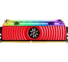 ADATA XPG SPECTRIX D80 8GB DDR4 3600, červená CL 17 AX4U360038G17-SR80