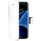 CELLY Wally Pouzdro typu kniha pro Samsung Galaxy S7 Edge, PU kůže, bílé