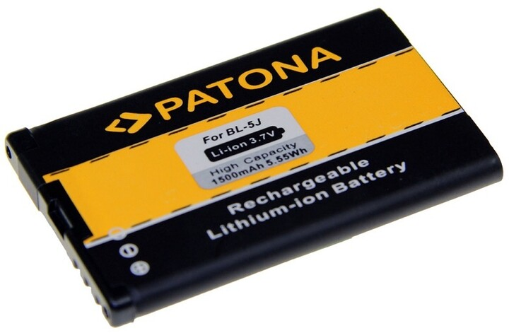 Patona baterie pro Nokia BL-5J 1500mAh 3,7V Li-Ion