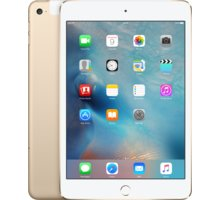 Apple iPad Mini 4, Cell 128GB, Wi-Fi, zlatá