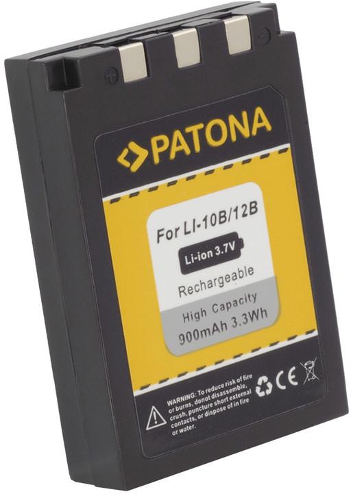 Patona baterie pro Olympus Li-12B / Li-10B 900mAh