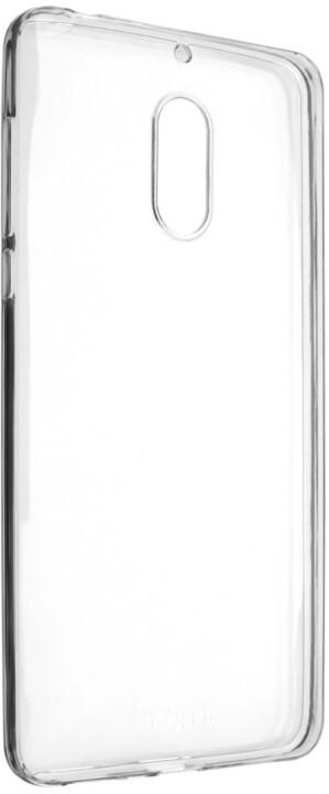FIXED Skin ultratenké TPU gelové pouzdro pro Nokia 6, 0,5 mm, čiré