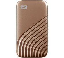 Western Digital My Passport - 1TB, zlatý - WDBAGF0010BGD-WESN
