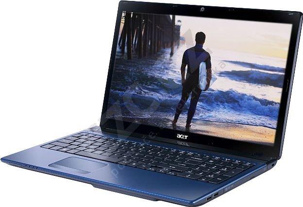 Acer Aspire 5750ZG-B954G75Mnbb, modrá