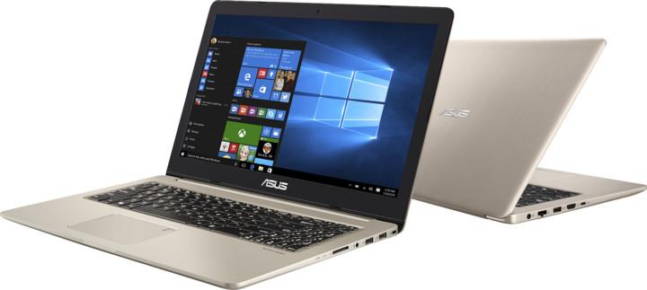 ASUS VivoBook Pro 15 N580VD, zlatá