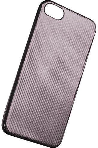 Forever silikonové (TPU) pouzdro pro Samsung Galaxy J3 2016, carbon/stříbrná