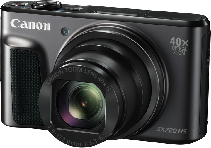 Canon PowerShot SX720 HS, černá