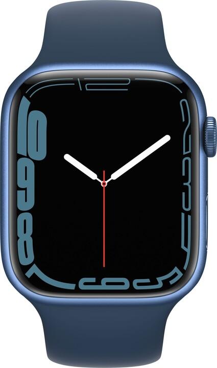 Apple Watch Series 7 Cellular, 45mm, Blue, Sport Band