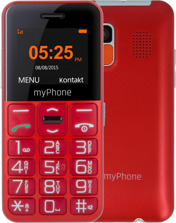myPhone EASY, Red