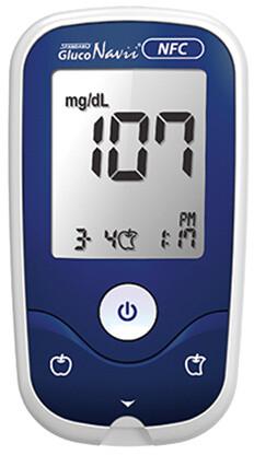 SD Biosensor sada glukometr Gluco Navii NFC + 50 proužků